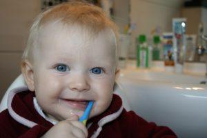 Artykuły higieniczne dla małego dziecka